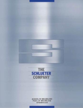Schlueter Company Catalog